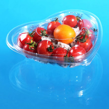 Heart Shaped Plastic Packing Box for Tomato and Cherry