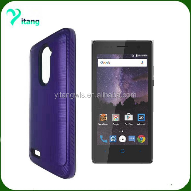 newest models case for ZTE Tempo N9131 brushed lars hard cover with factory price