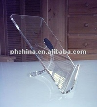 VC-2207 Elegant Polished Hot Bending Clear Acrylic/Plexiglass Ipad/Notebook Computer Display Holder/Rack