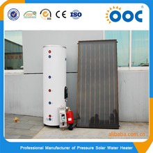 High quality split pressurized solar panel water heater with solar keymark