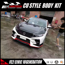 NEW ARRIVED 100% fitment hond-a civi-c FC2 10 generation cuper style body kit made in china original design