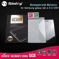 Free samples Glass protector 8.0'factory supply Perfect fit tempered glass screen protector for Samsung galaxy tab a 8.0/t357