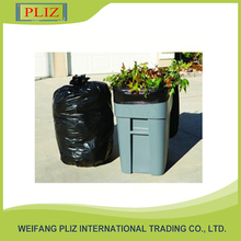 Factory manufacturing biodegradable brown plastic garbage bags