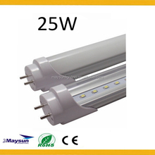 fine products SMD2835 chip Japanese tube 4ft led tube light fixture with 2 years warranty