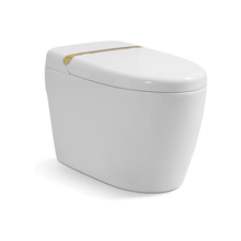 Hot sell modern jet siphonic bathroom intelligent smart toilets one piece toilet