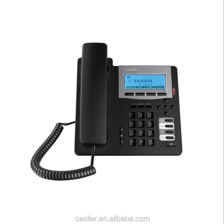OEM sip IP telephone parts and function of telephone