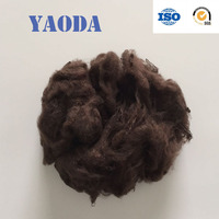 Solid polyester fiber for soft toys raw materials