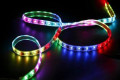 addressable rgb led strip 12v 150led/roll WS2811rgb led strip light SMD5050