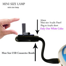 Mini Portable Flexible USB Cool 3D Lamp Alphabet letter L Desk night light USB Switch atmosphere for baby holiday bedroom decor