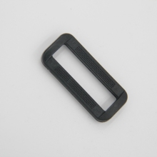 Wholesale custom size black plastic safety square adjustable seat belt tri-glide quick release buckles