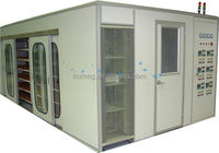 Pharma & Lab Custom build burn-in / Drive-In and Stability Rooms test equipment with glass wool / PUF insulation