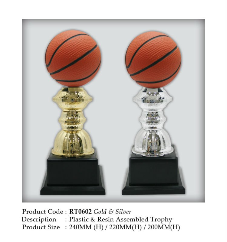 Resin Trophy - Basketball