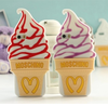 Wholesale 2016 New 3D Creative Fashional Mcdonald Ice Cream Soft Silicone Phone Case for iPhone 6