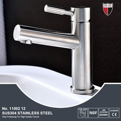 Deck mounted single handle SUS304 stainless steel faucets