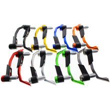 10 colors hand brake and clutch pulsar 180 parts cnc motorcycle 7/8 inch lever guard