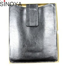 leather belt clip case for 7 inch tablet pc