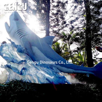 Playground High Simulation Colourful Shark Model