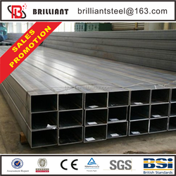 Tianjin square rectangular pipe ! square tubing seamless hot sale best price steel pipe bunk bed