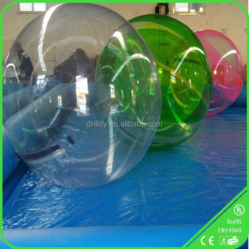 Transparent Inflatable running ball on water