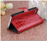 New arrival for Iphone5 flip leather case, mobile phone case