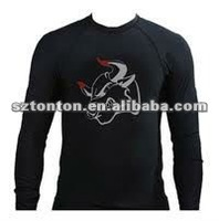 Lycra Rash Guard Surf Shirt
