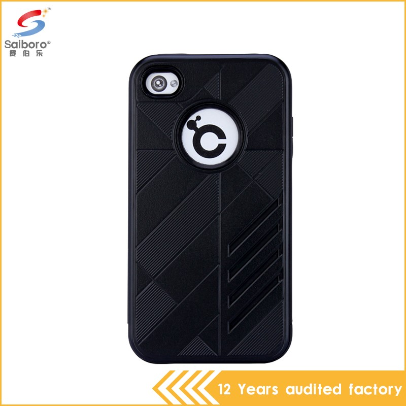 High impact cheap wholesale shockproof protective case for iphone 4