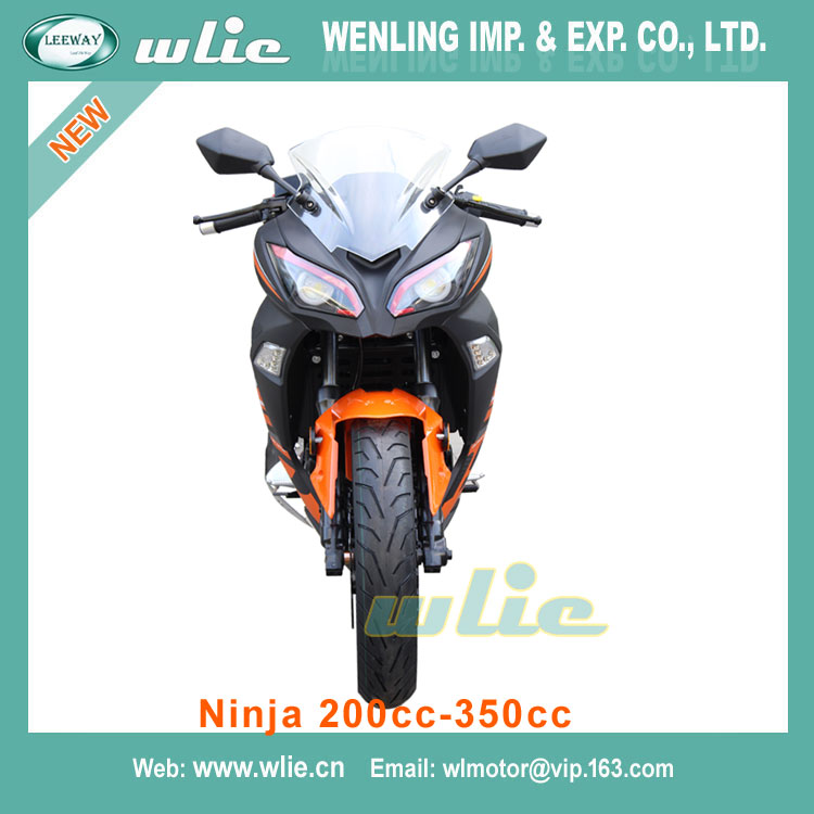 Cheap Price lifan engine leeway Street Racing Motorcycle Ninja (200cc, 250cc, 350cc)