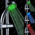 temperature sensor 3 colors led rain shower head LD8008-A14