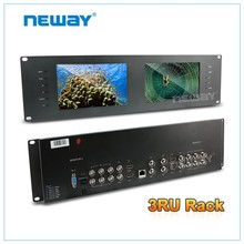 "China supplier 3G-Sdi 7"" Rackmount Surveillance Monitor"