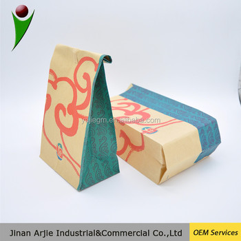 health food packaging sandwish paper bag/paper food bag/bread packaging paper bags