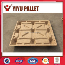 High quality Safe And Recyclable Eco-Friendly Hygienic Blue 4 Way Europe Logistic wooden Pallet
