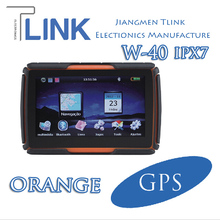 W-40 Motorcycle Bike 4.3inch Navigation Small GPS Tracking Device TFT LCD Reditive Touch Panel