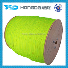 6mm nylon rope colors fluorescent green for ship