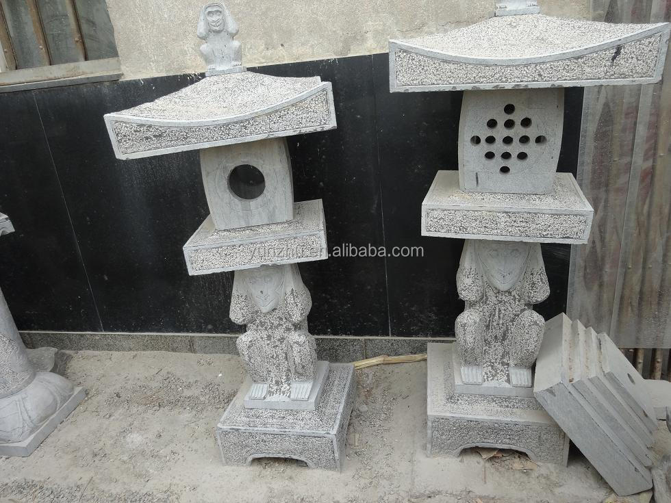 Granite chinese garden stone lantern for landscaping,outdoor stone lantern