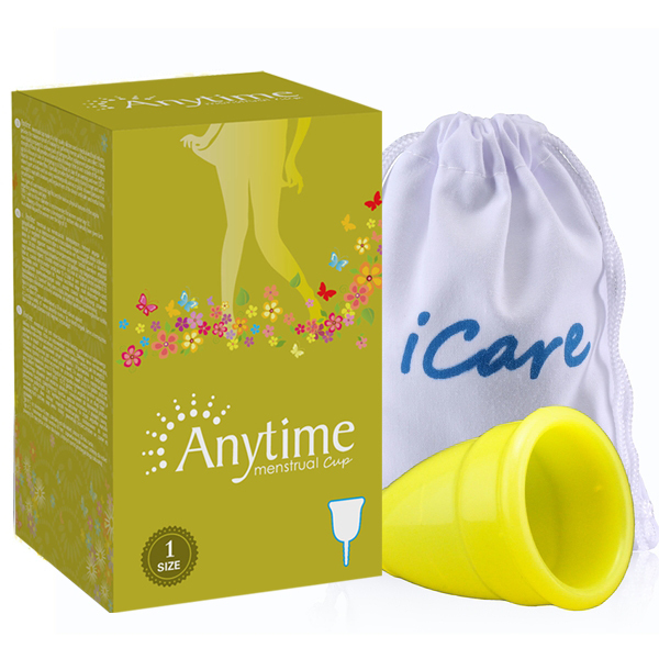 2015 Anytime Wholesale Reusable Medical Grade Silicone Lady Menstrual Cup Feminine Hygiene Product Lady Menstruation