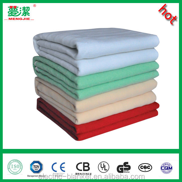 CE certificate 100 polyester electric heated blanket