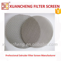 Plastic Extrusion Use Plain Weave 1000 Micron Mesh Filter