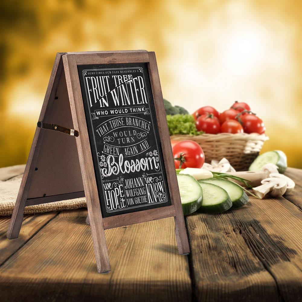 Bar and Pub Wooden Chalkboard Sign with Liquid pen