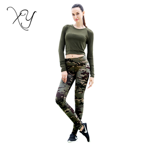 Retail Sexy Gym Clothes Women Fitness Sports Yoga Crop Top And Leggings Set