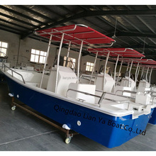Liya 5.8m yatch luxury boat yacht fiberglass fishing boat for sale malaysia