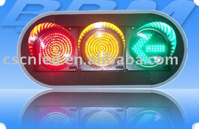 12inch Ball Red Yellow and Arrow Green 12 Volt LED Decorative Traffic Light