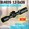 BL4026 1.2-5x36 riflescopes hunting military tactical manufacturers ar15 accessories gun sight optic rifle scope for rifles
