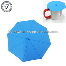 Promotional gifts umbrella shape silicone seal lid