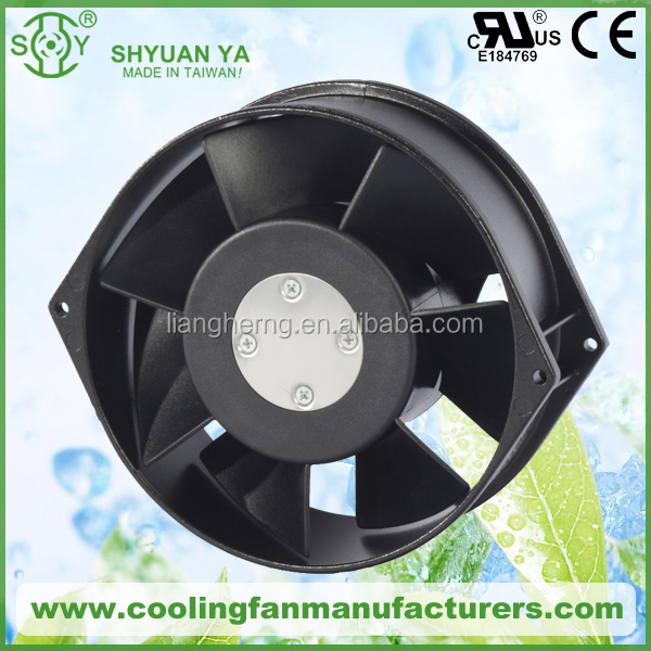 high temperature resistant specification ac 150mm axial fan