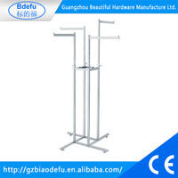 2016 Wholesale mens ladies shop display racks for clothing,small clothes rail