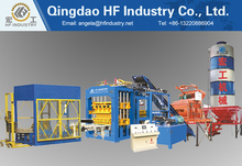QT10-15C automatic concrete hollow brick making machine price check south africa