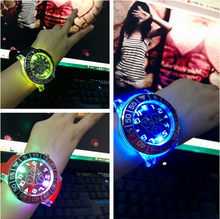 wholesale silicone light up digital kid led wrist watch