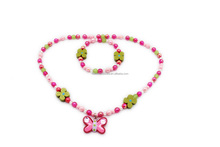Cute beaded kid jewelry set - various designs accessories for girls