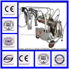 new type/single bucket/piston pump cow milking machine