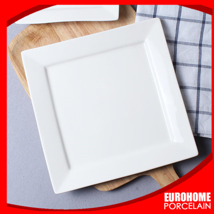 guangzhou wholesale custom hotel restaurant banquet wedding square plate